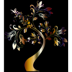 Colorful Floral Tree 11