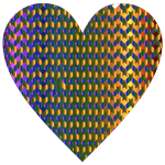 Colorful Heart Lattice Weave 6