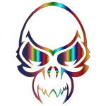 Colorful Skull 3