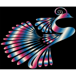 Colorful Stylized Peacock 12
