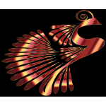 Colorful Stylized Peacock 9
