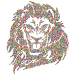 Colorful Tribal Lion Circles