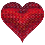 Colorful Wavy Heart 9