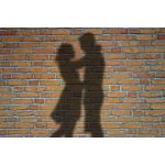 Couple in a shadow