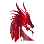 Crimson Dragon Head