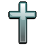 Vector symbol of Christian religion
