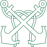 Crossed anchors