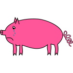 Crying pig