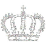 Crystal Royal Crown No Background
