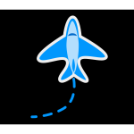 Airplane cartoon image