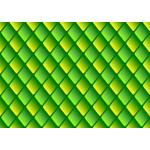 Diamond pattern in green