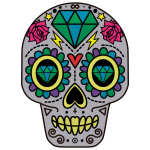 Decorative Sugar Skull