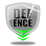 Defence logo shield