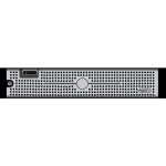 Dell PE2950 server vector drawing