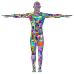 Detailed Low Poly Man Prismatic