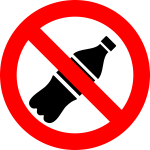 Do not drink sign vector clip art