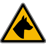 Dog hazard image