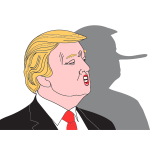 Donald Trump And Shadow