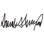 Donald Trump Signature 2015072935