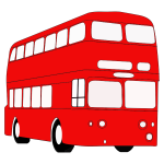 Red double decker