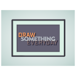Frame for drawing