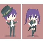 Boy & girl magician