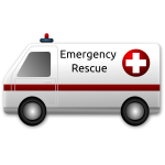 Emergency rescue vector clip art