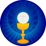 Illustration of Holy Eucharist symbol