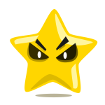 Evil star character