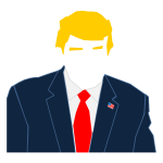 Faceless Trump