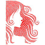 Girl with red hair image