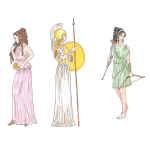 Female mythological figures