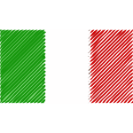 Flag of Italy linear 2016090150