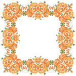 Floral Wreath Frame 2