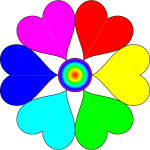 Six Heart Flower