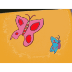 Found Mural Butterflies 3 2014111933