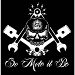 Freemason Widows Sons Masonic Hotrod Logo