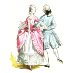 French ballroom costumes