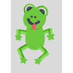 Frog with tongue 2015090448