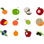 Fruit icons pack 2