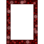 Red Frame With Gears