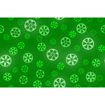 Green gears pattern