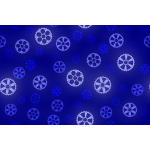 Gears pattern in blue color