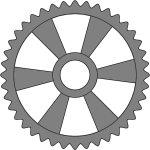 40-tooth cog