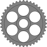 50-tooth gear