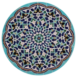 Geometric Islamic Tile Work