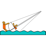 Sailing Capsizing Rescue Illustration