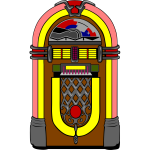 Vector jukebox image