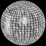 Glimmering Disco Ball Enhanced