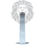 Simplified Lions Head Fountain